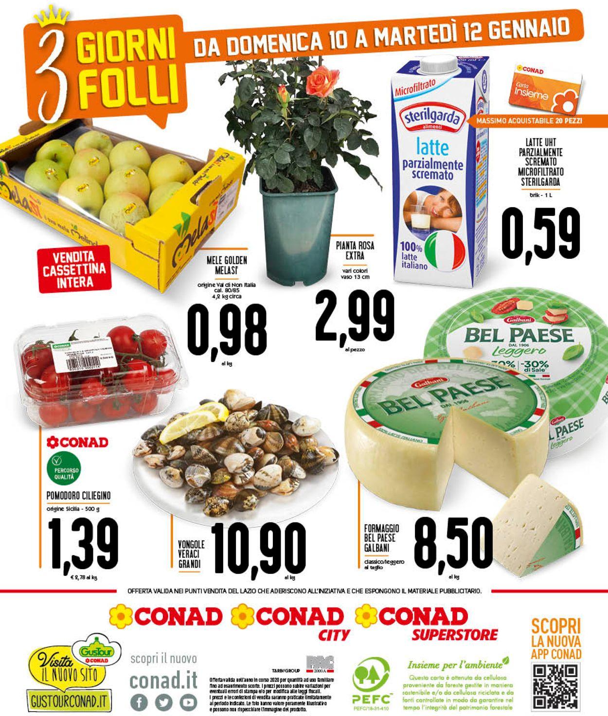 Volantino Conad - Offerte 05/01-12/01/2021 (Pagina 12)