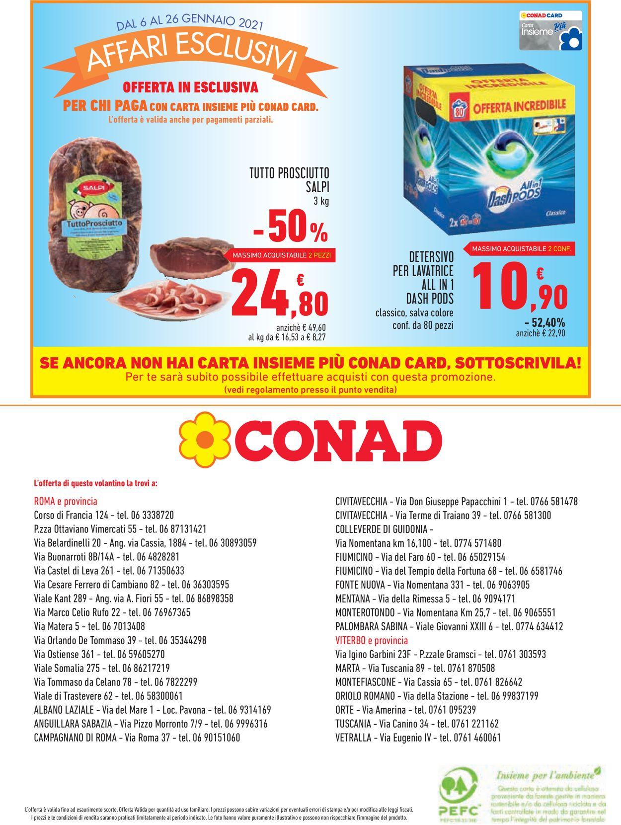 Volantino Conad - Offerte 06/01-26/01/2021 (Pagina 12)