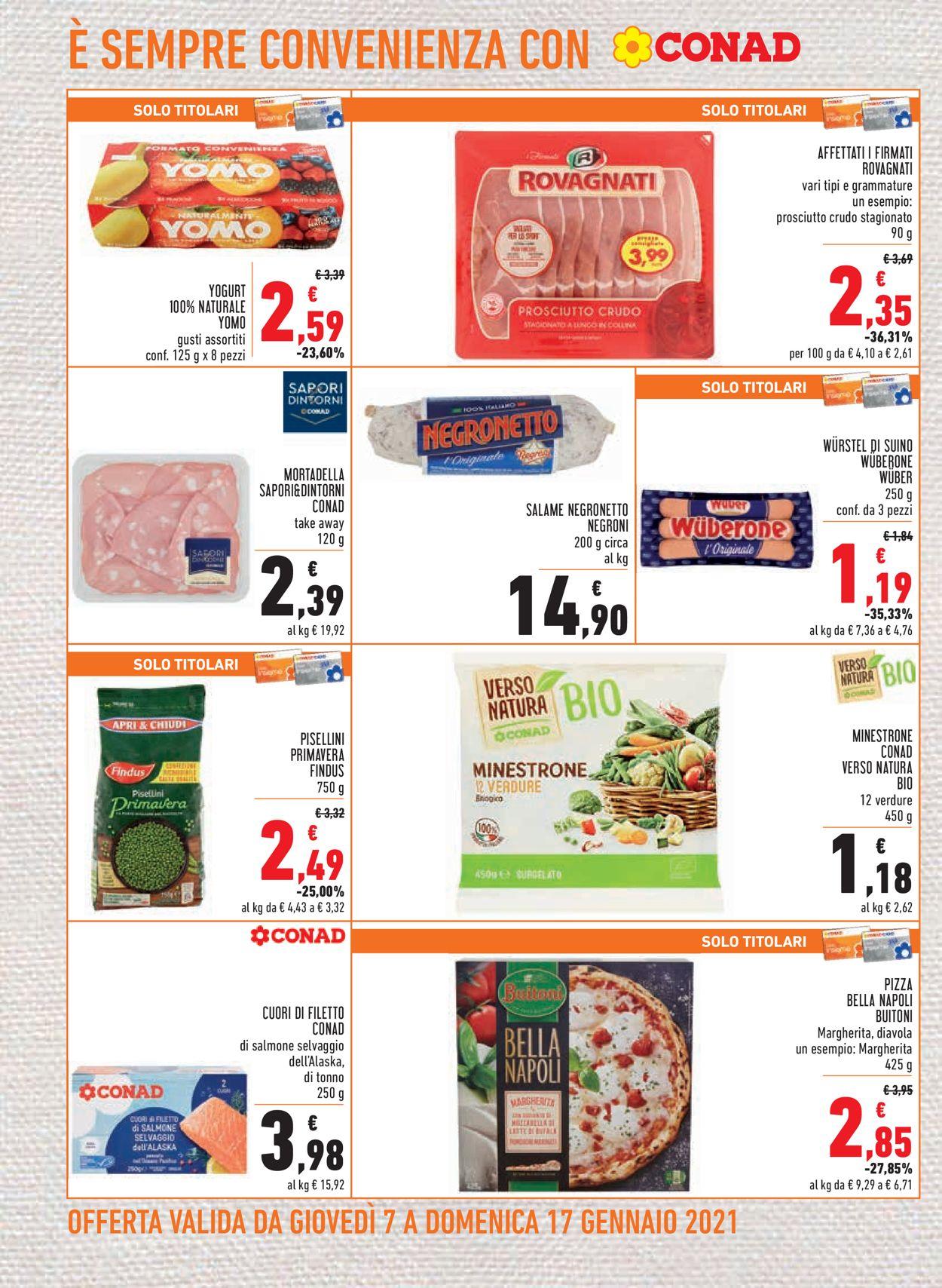 Volantino Conad - Offerte 07/01-17/01/2021 (Pagina 8)
