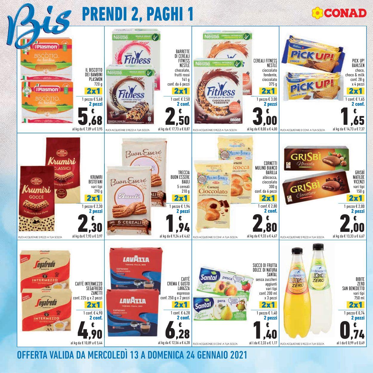 Volantino Conad - Offerte 13/01-24/01/2021 (Pagina 4)