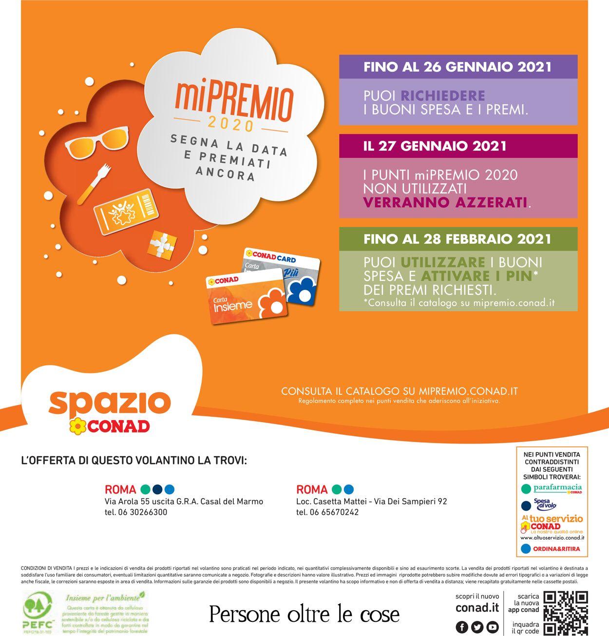 Volantino Conad Spazio - Offerte 19/01-28/01/2021 (Pagina 40)