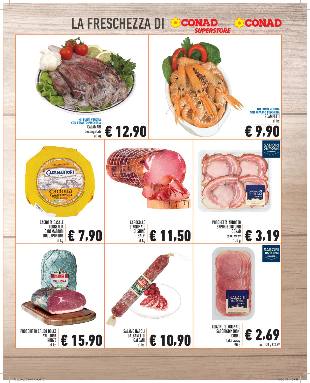 Volantino Conad - Offerte 20/01-26/01/2021 (Pagina 3)