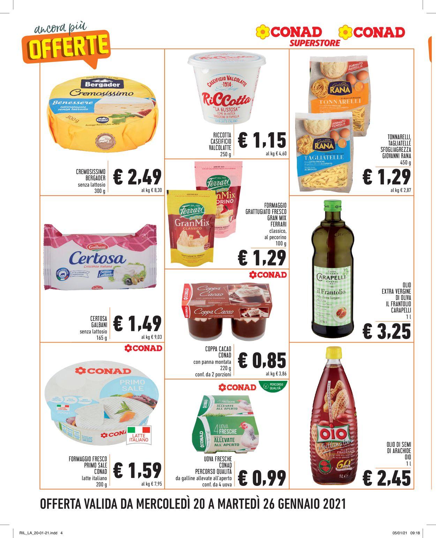 Volantino Conad - Offerte 20/01-26/01/2021 (Pagina 4)