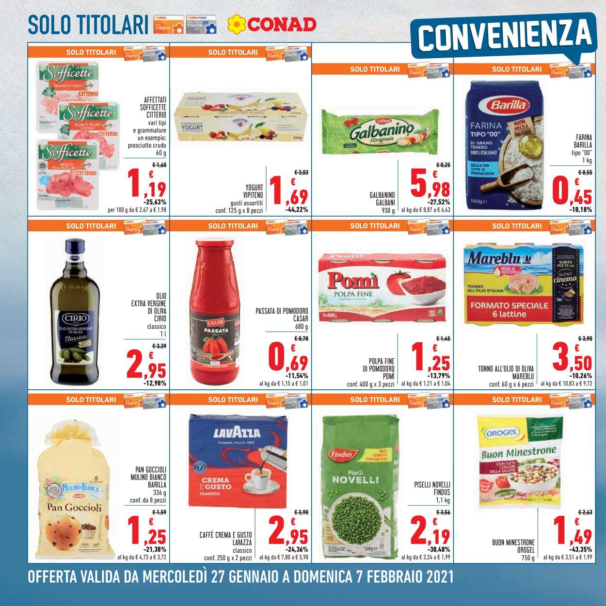 Volantino Conad - Offerte 27/01-07/02/2021 (Pagina 2)