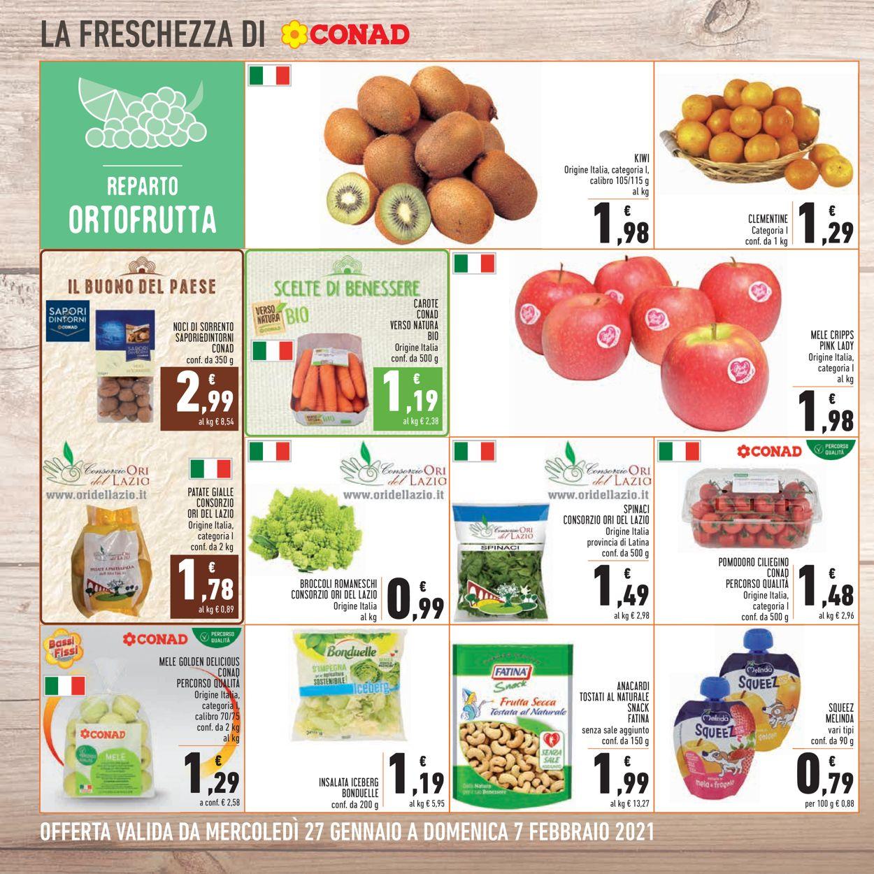 Volantino Conad - Offerte 27/01-07/02/2021 (Pagina 8)