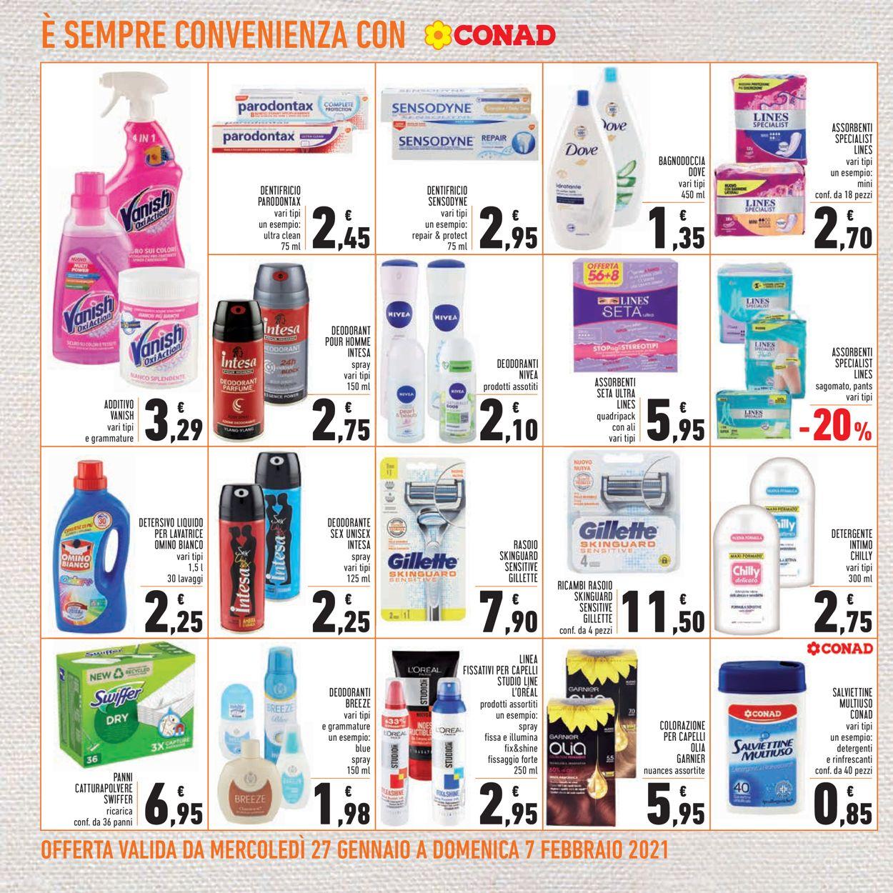 Volantino Conad - Offerte 27/01-07/02/2021 (Pagina 22)
