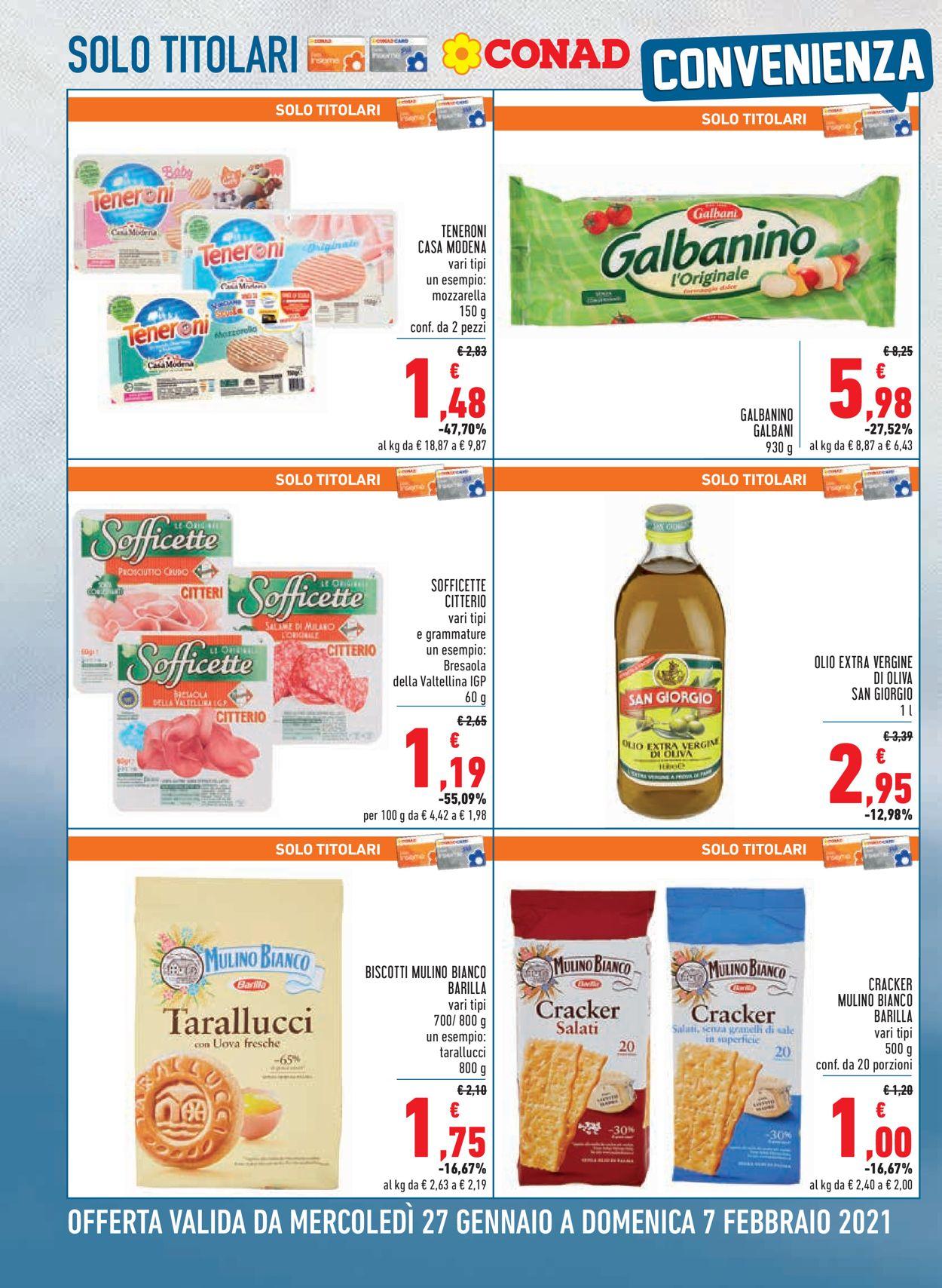 Volantino Conad City - Offerte 27/01-07/02/2021 (Pagina 2)