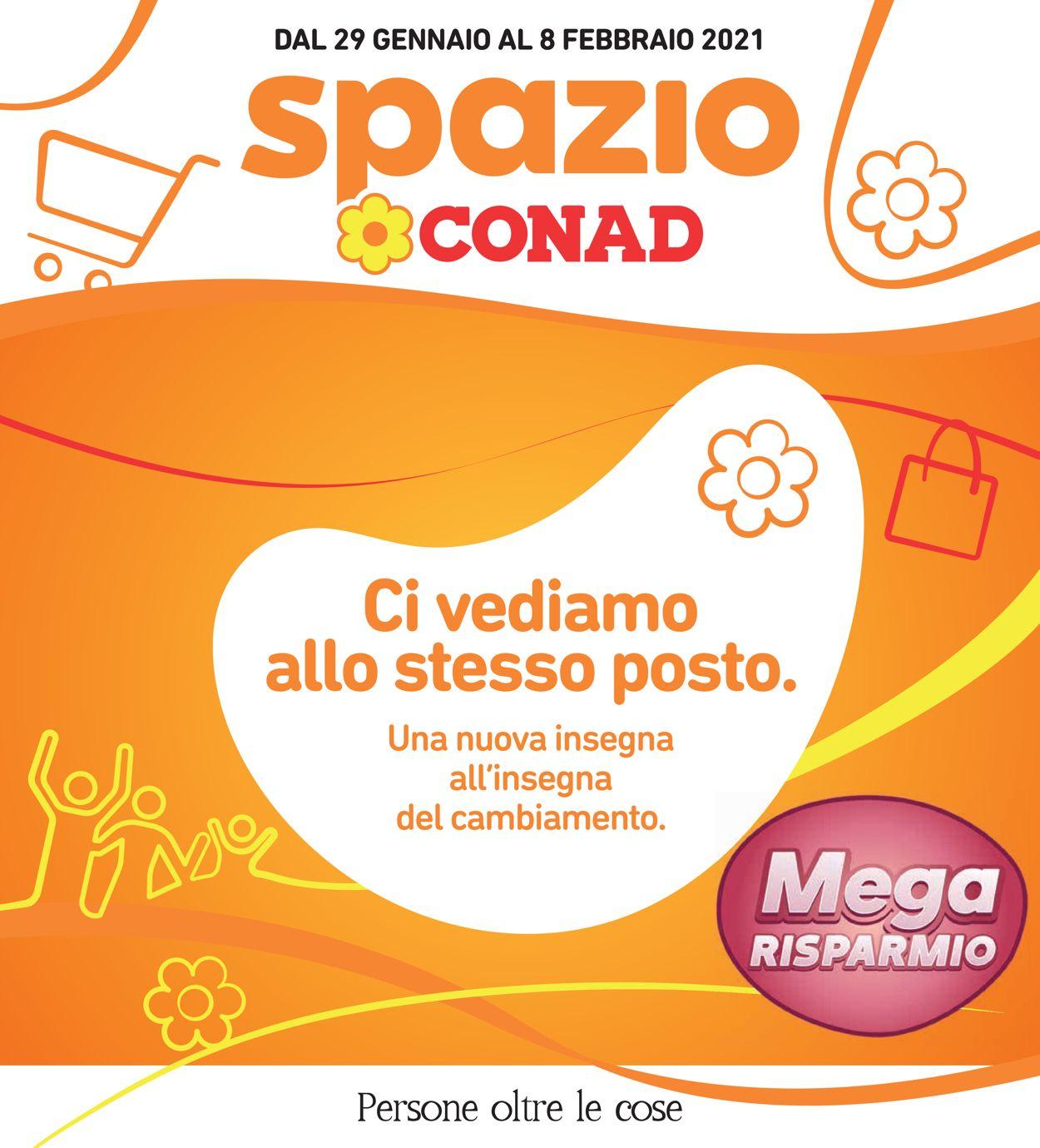 Volantino Conad - Offerte 29/01-08/02/2021