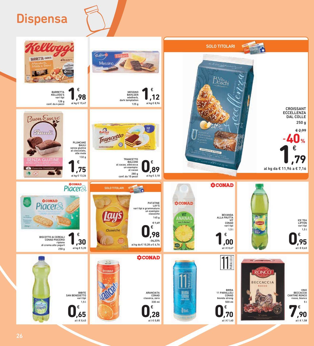 Volantino Conad Spazio - Offerte 29/01-08/02/2021 (Pagina 26)
