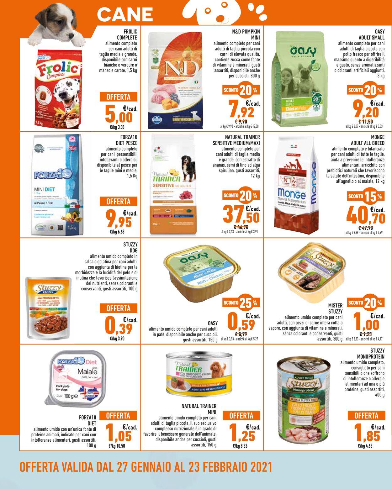 Volantino Conad - Pet Store 2021 - Offerte 27/01-23/02/2021 (Pagina 2)