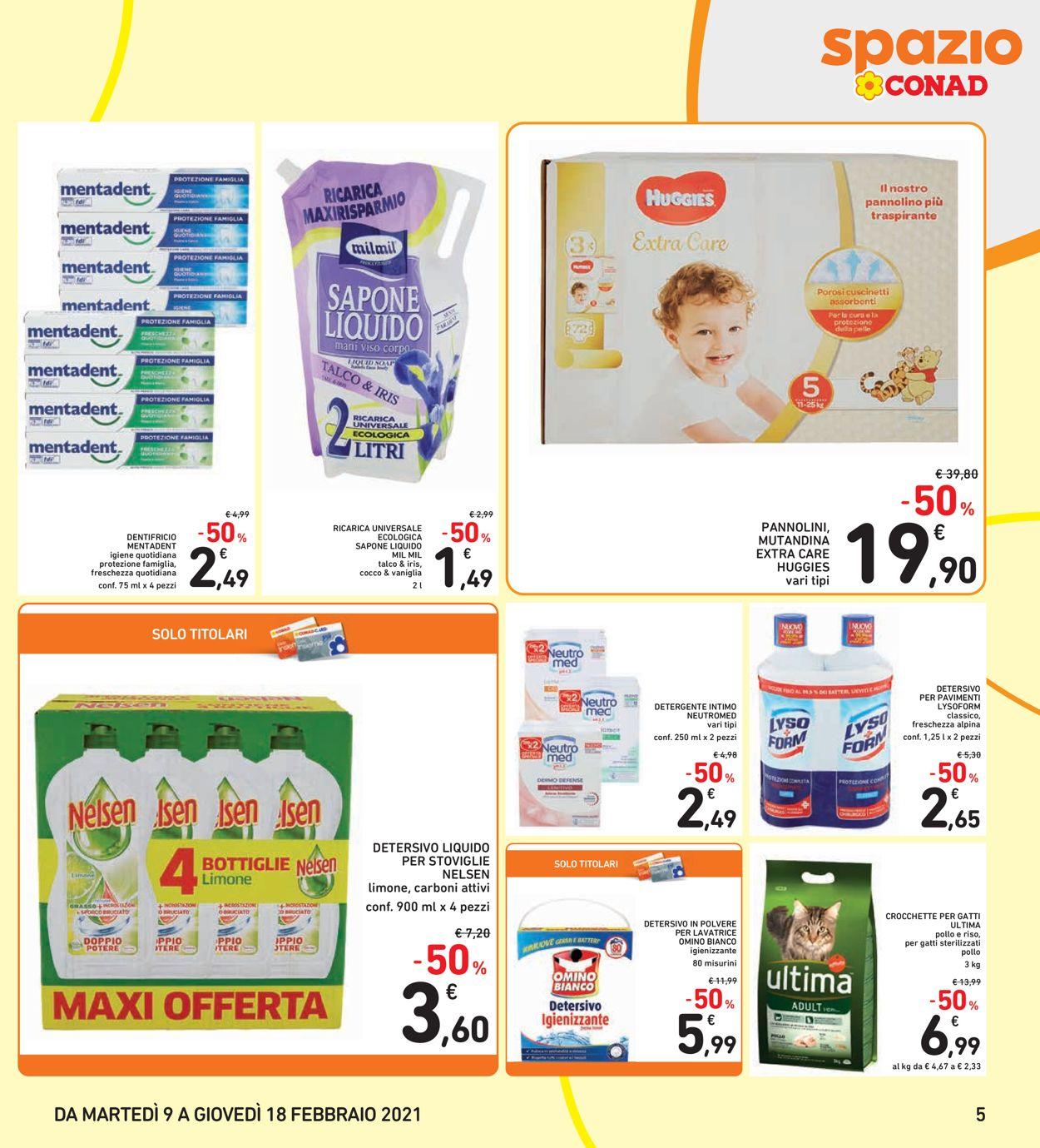 Volantino Conad - Offerte 09/02-18/02/2021 (Pagina 5)