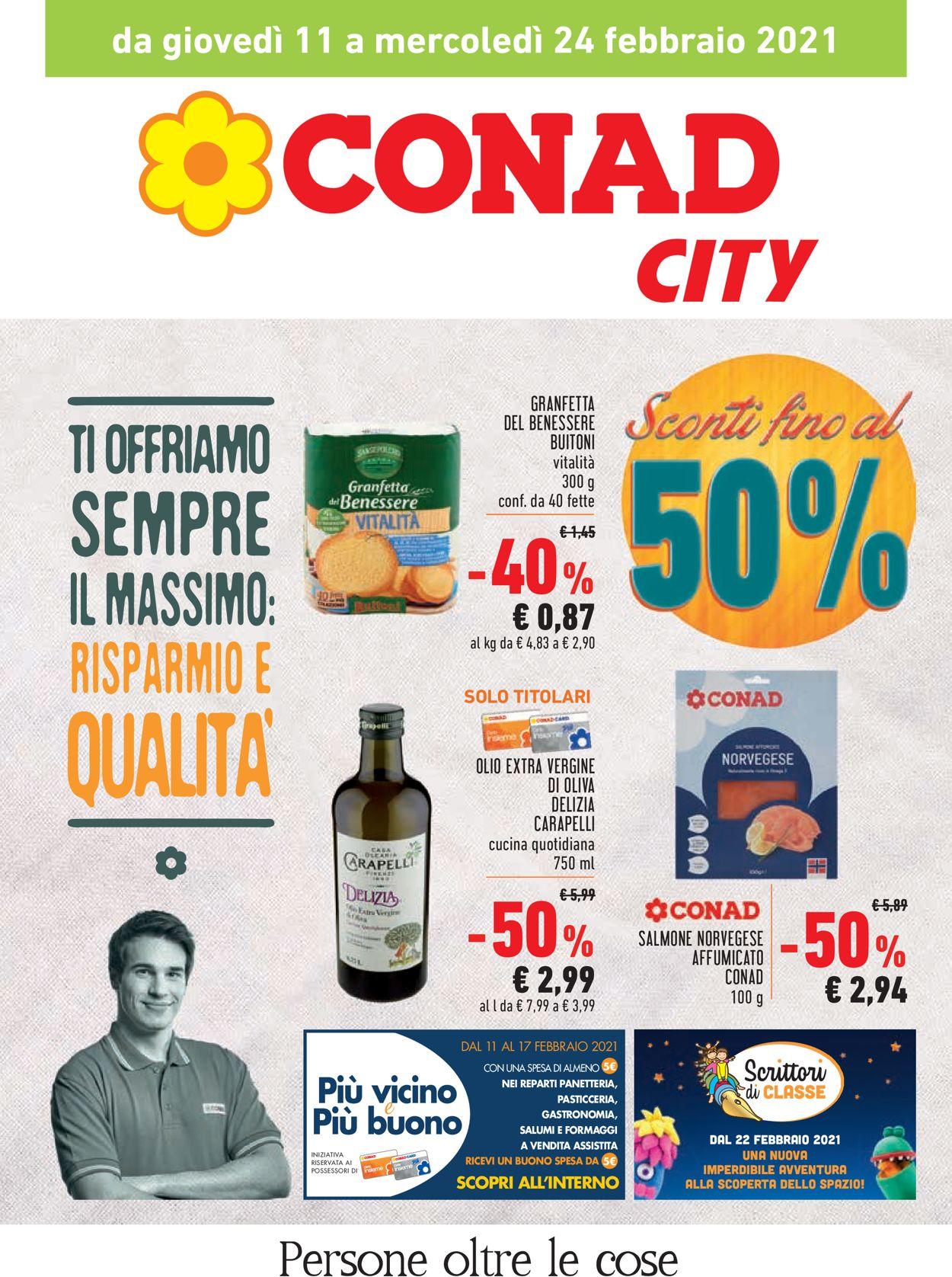 Volantino Conad - Offerte 11/02-24/02/2021