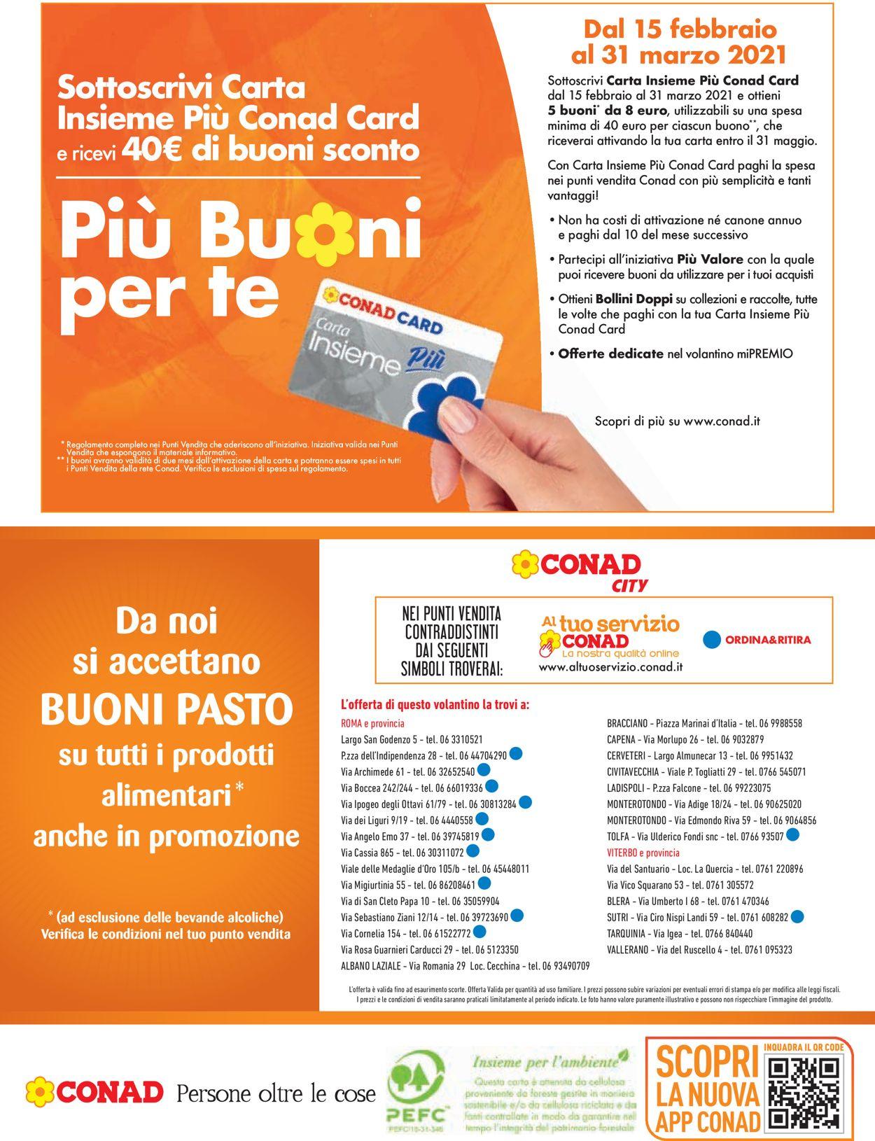 Volantino Conad City - Offerte 11/02-20/02/2021 (Pagina 20)