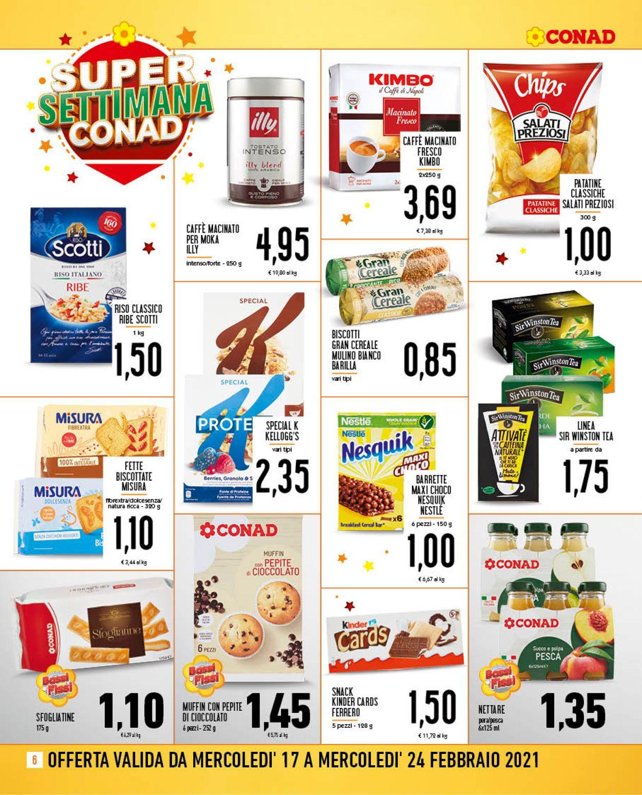 Volantino Conad - Offerte 17/02-24/02/2021 (Pagina 6)
