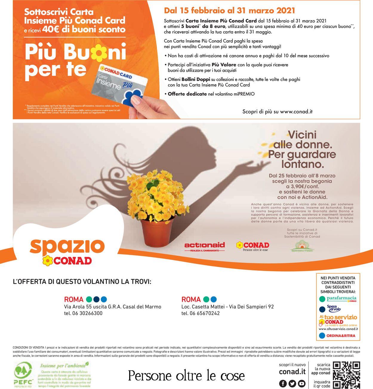 Volantino Conad - Offerte 19/02-01/03/2021 (Pagina 40)