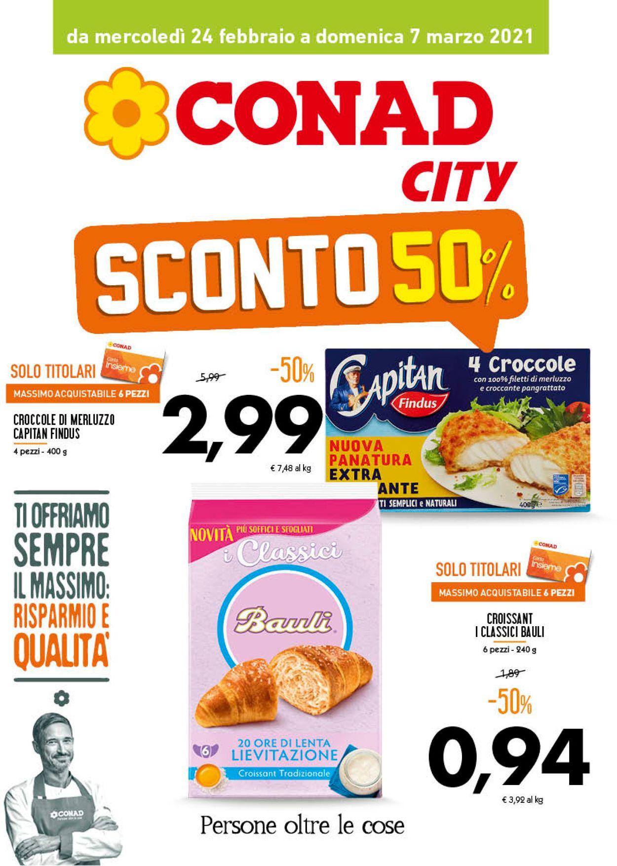 Volantino Conad - Offerte 24/02-07/03/2021