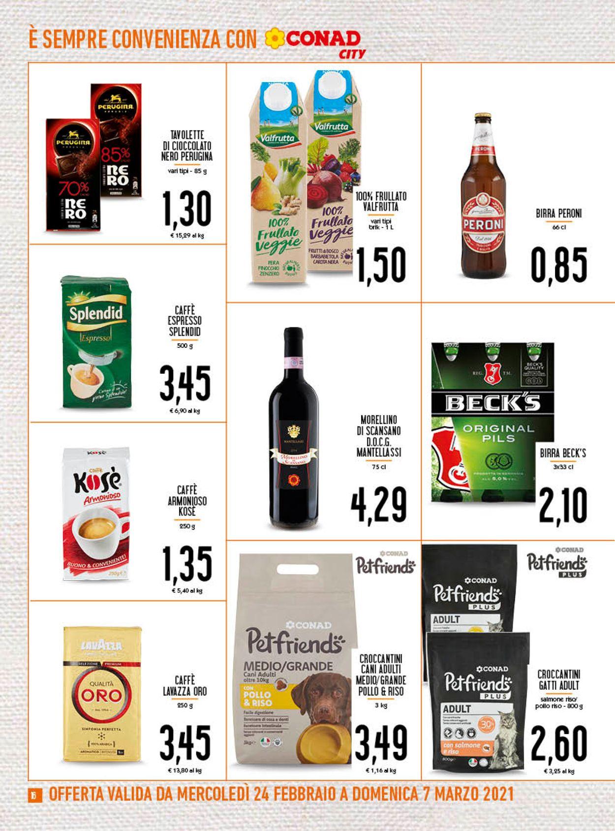 Volantino Conad - Offerte 24/02-07/03/2021 (Pagina 16)