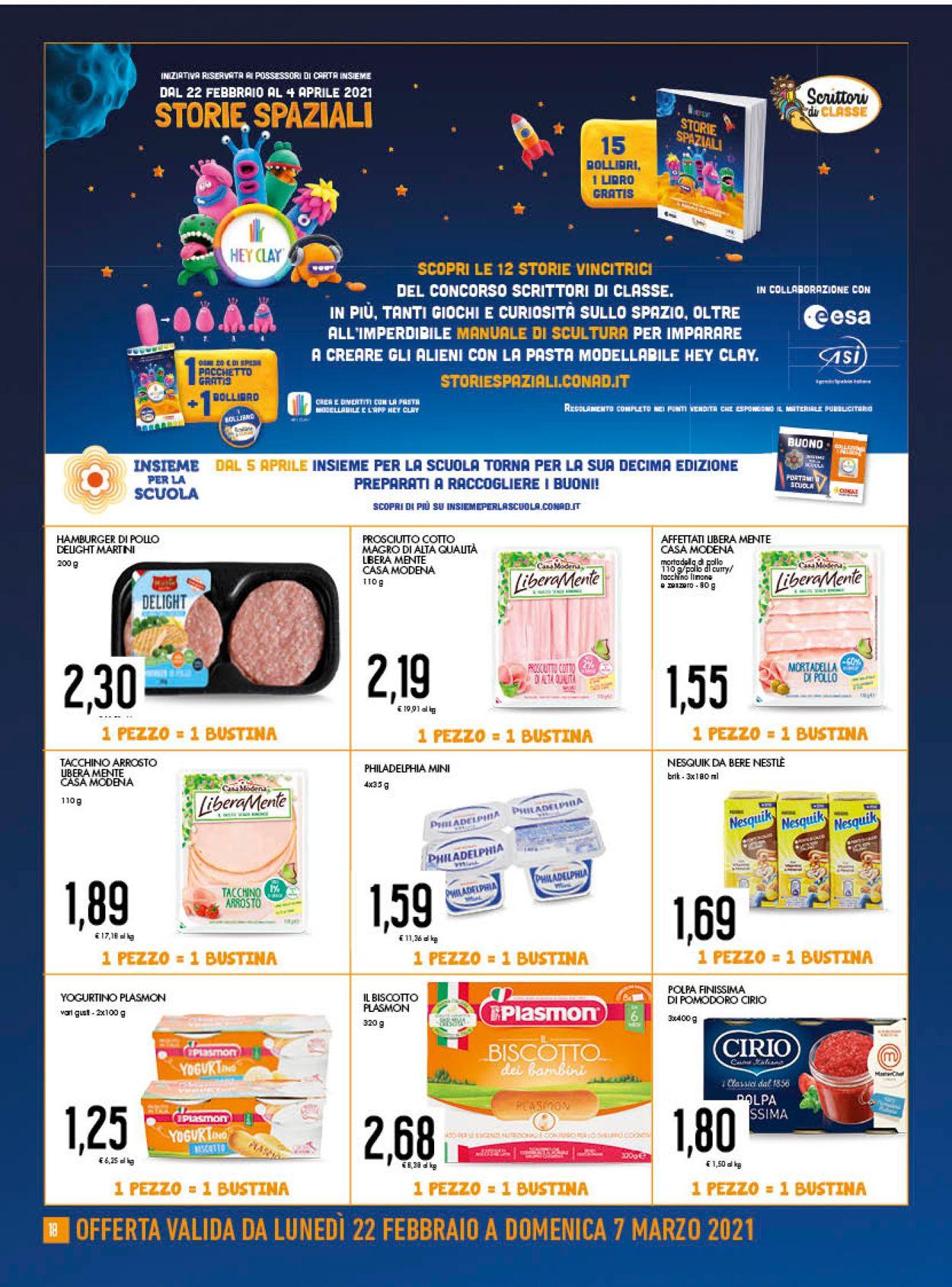 Volantino Conad - Offerte 24/02-07/03/2021 (Pagina 18)