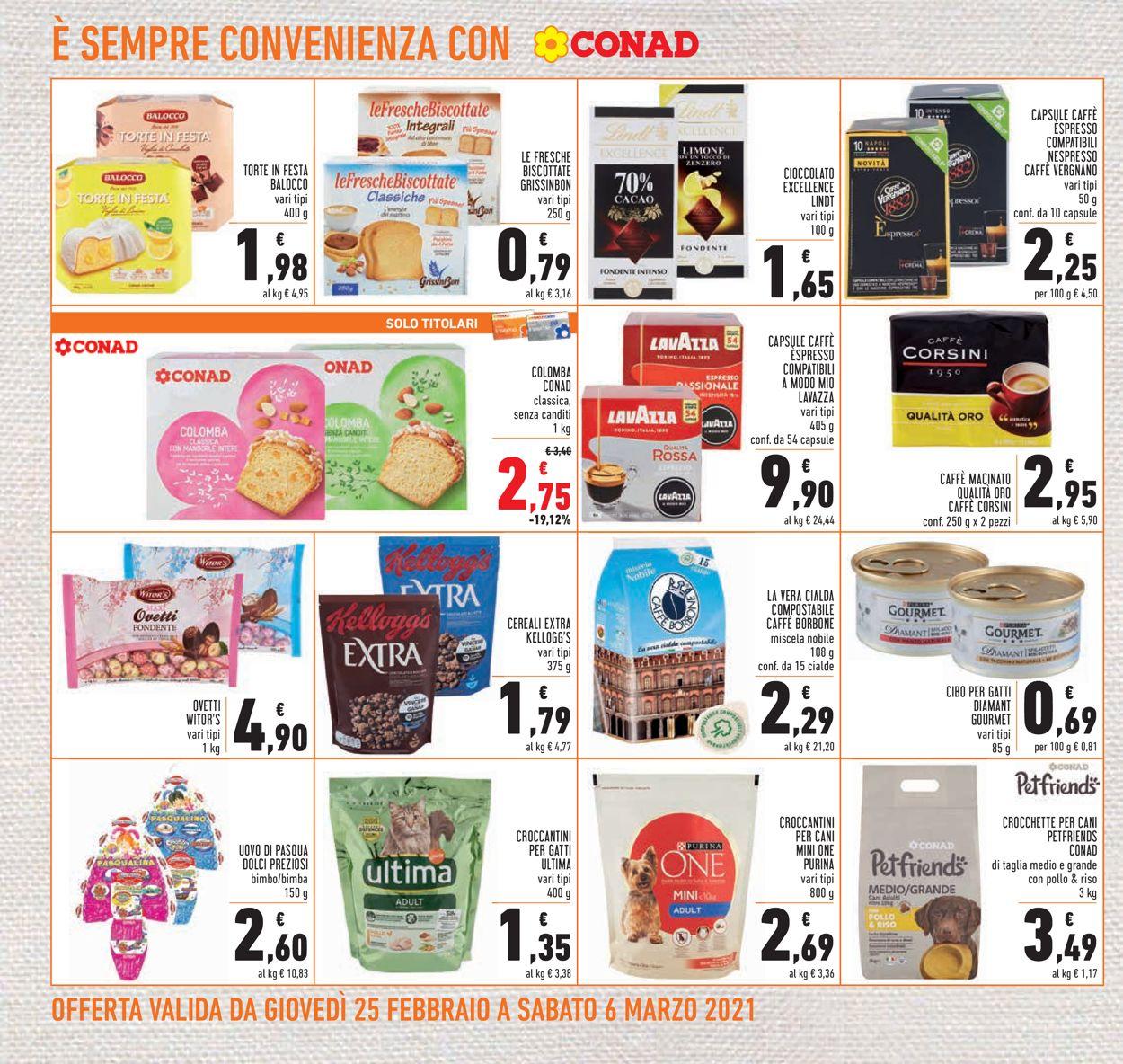 Volantino Conad - Offerte 25/02-06/03/2021 (Pagina 22)
