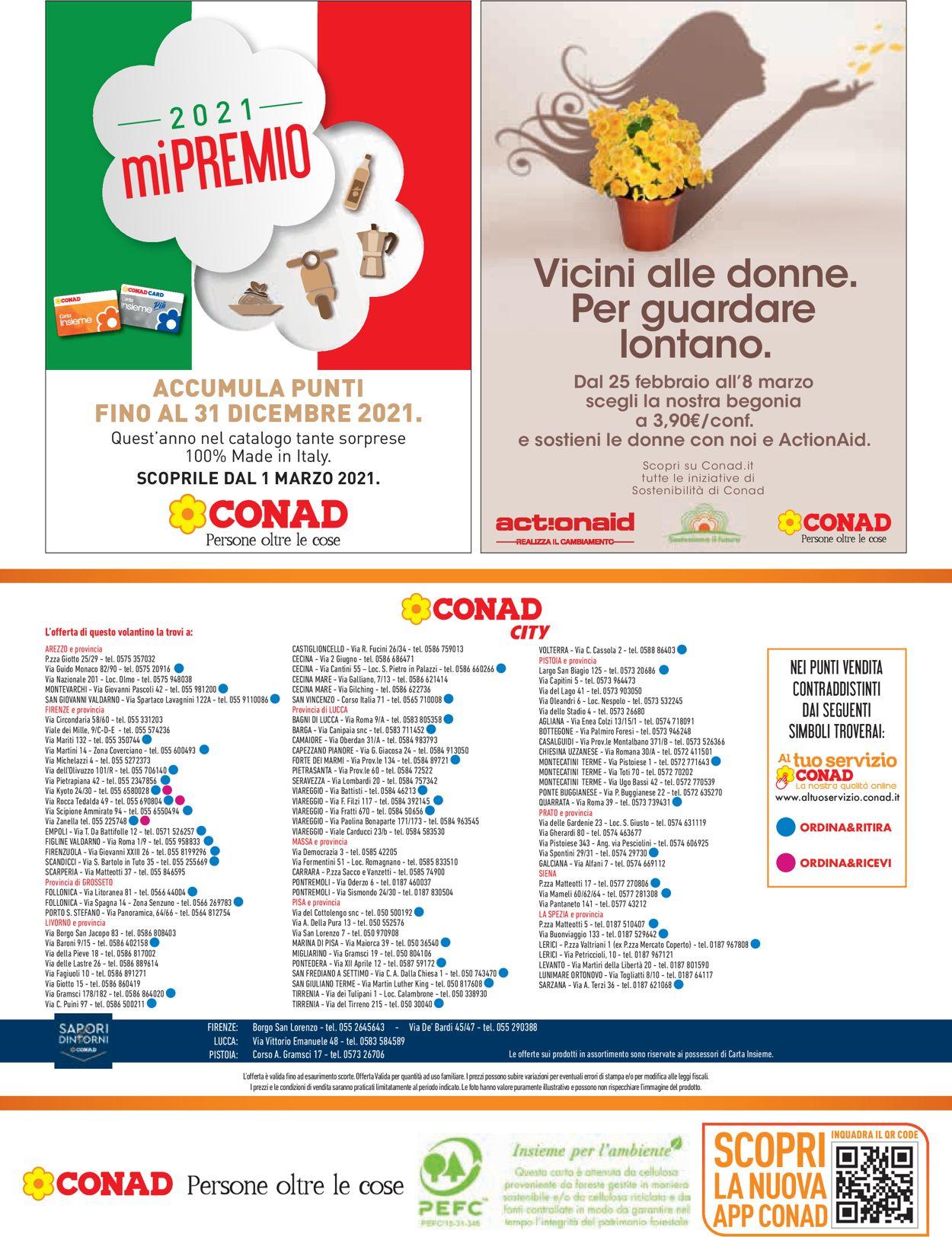 Volantino Conad - Offerte 25/02-06/03/2021 (Pagina 20)