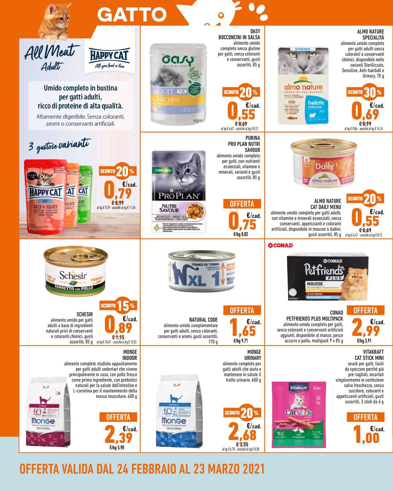 Volantino Conad - Offerte 24/02-23/03/2021 (Pagina 4)
