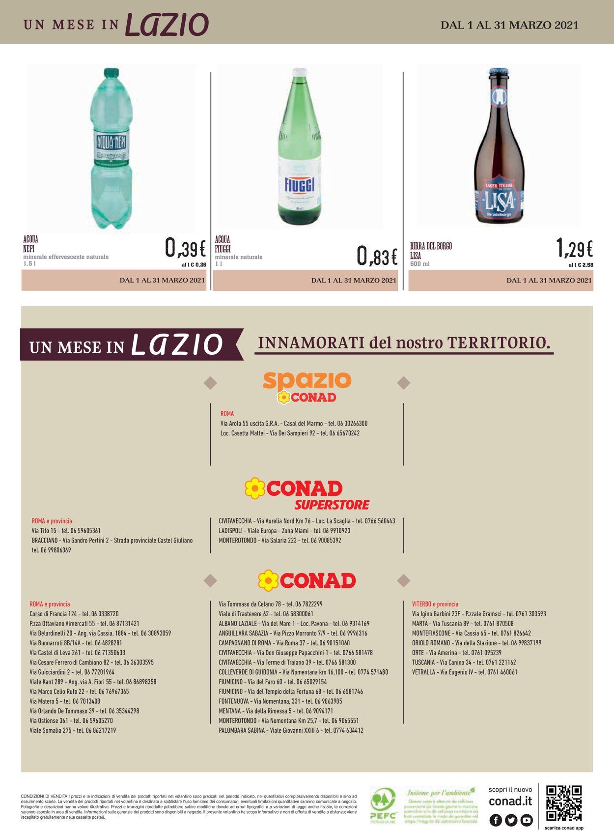 Volantino Conad - Offerte 01/03-31/03/2021 (Pagina 16)