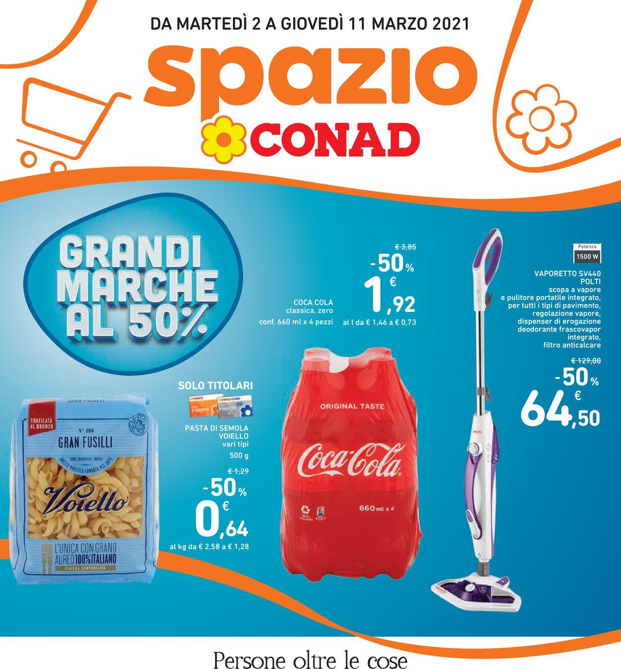 Volantino Conad - Offerte 02/03-11/03/2021