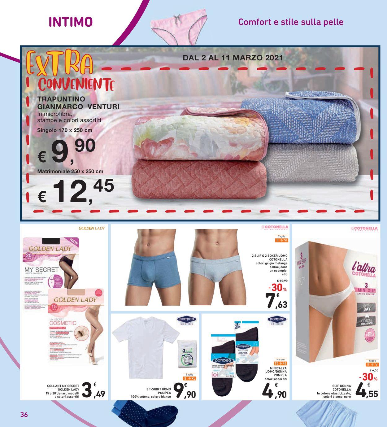 Volantino Conad - Offerte 02/03-11/03/2021 (Pagina 36)