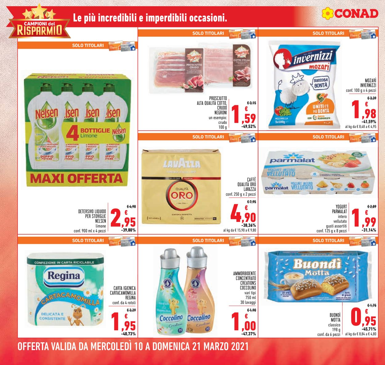 Volantino Conad - Offerte 10/03-21/03/2021 (Pagina 2)