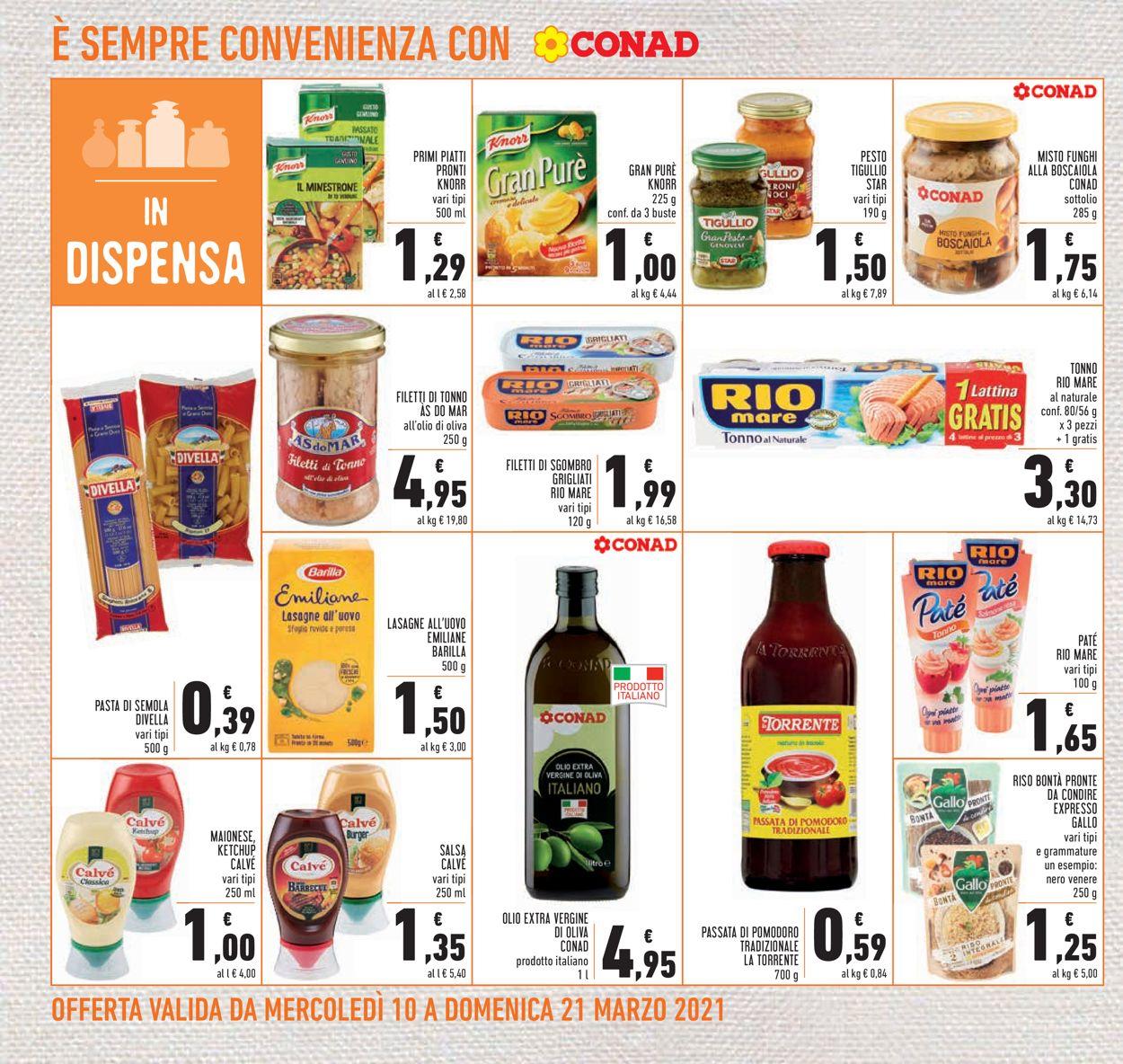 Volantino Conad - Offerte 10/03-21/03/2021 (Pagina 20)