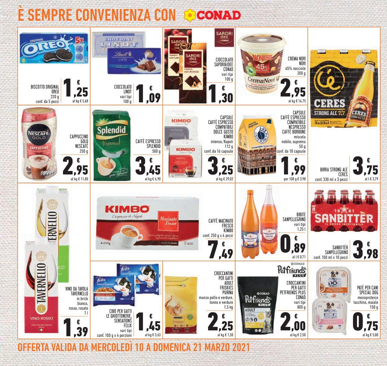 Volantino Conad - Offerte 10/03-21/03/2021 (Pagina 22)