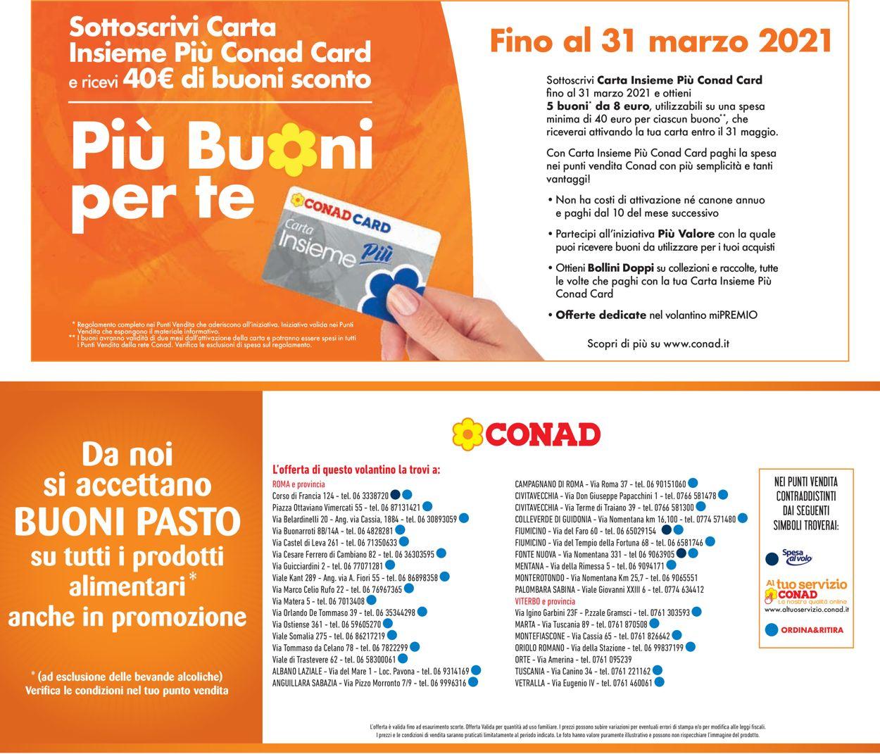 Volantino Conad - Offerte 10/03-21/03/2021 (Pagina 27)
