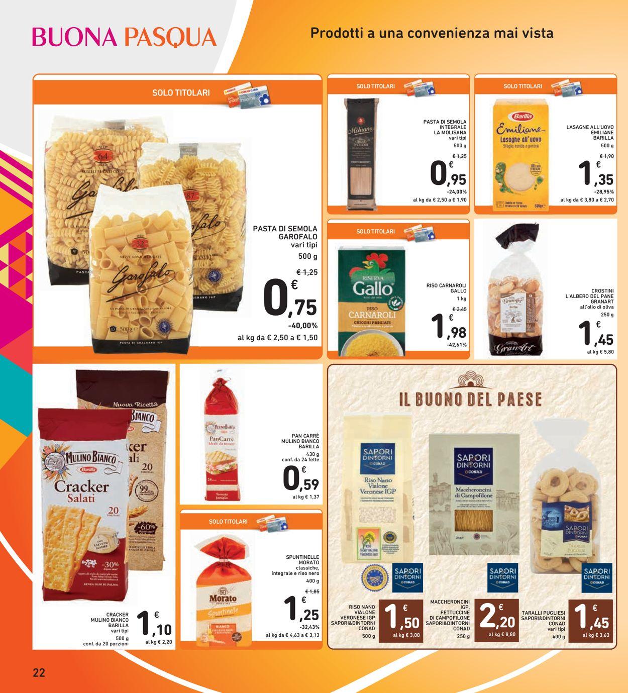 Volantino Conad - Pasqua 2021! - Offerte 22/03-05/04/2021 (Pagina 22)