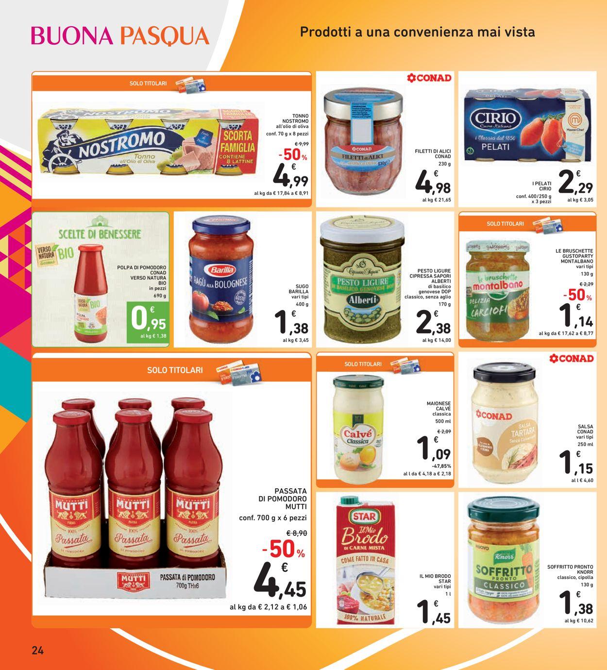 Volantino Conad - Pasqua 2021! - Offerte 22/03-05/04/2021 (Pagina 24)