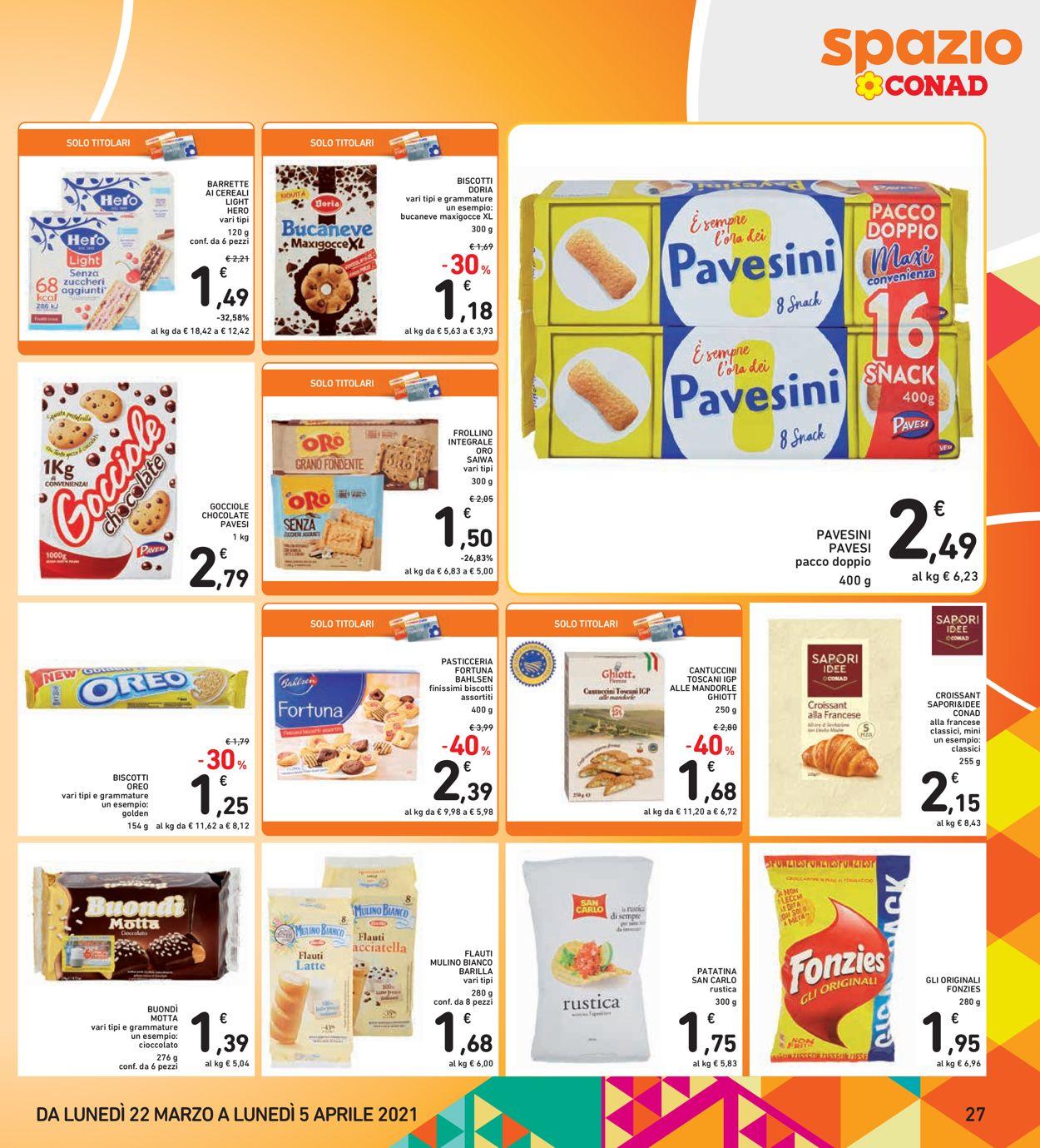 Volantino Conad - Pasqua 2021! - Offerte 22/03-05/04/2021 (Pagina 27)