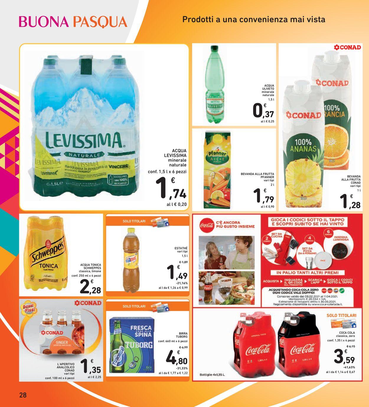Volantino Conad - Pasqua 2021! - Offerte 22/03-05/04/2021 (Pagina 28)