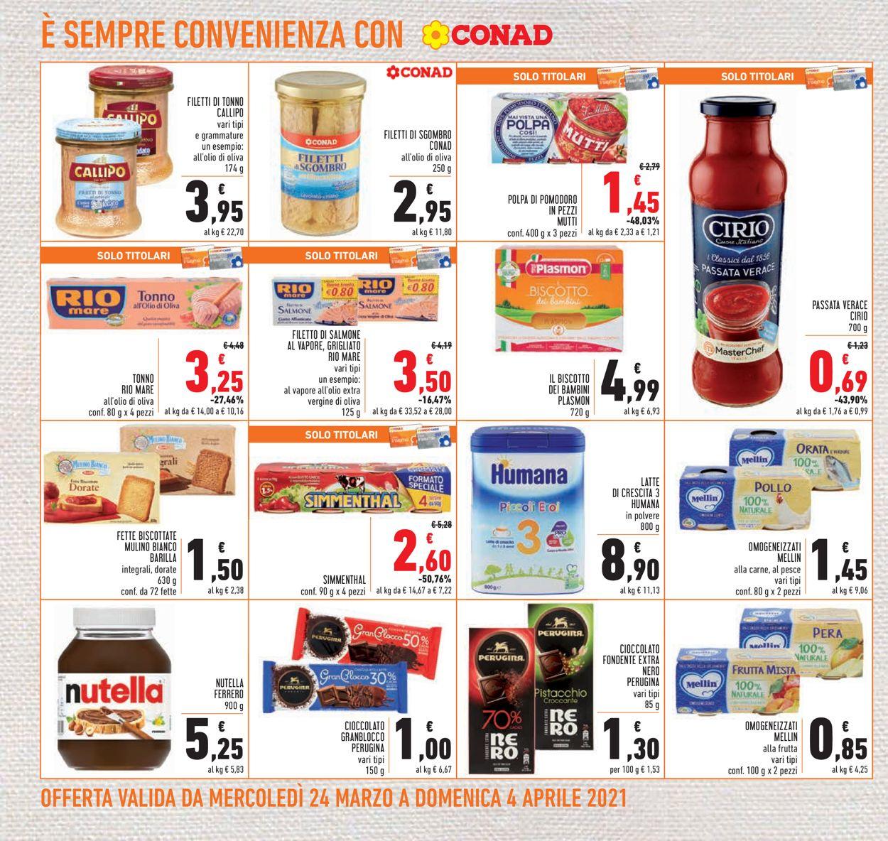 Volantino Conad - Pasqua 2021! - Offerte 24/03-04/04/2021 (Pagina 24)