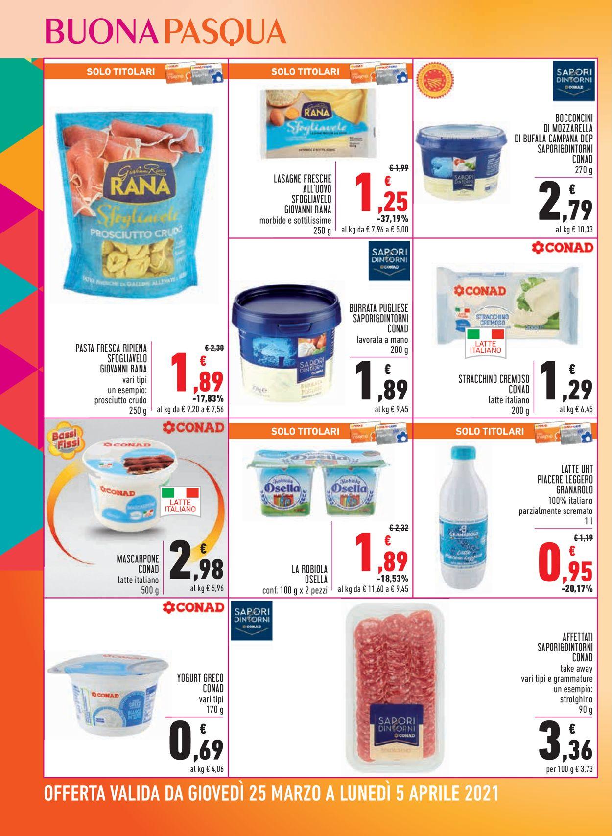 Volantino Conad - Pasqua 2021! - Offerte 25/03-05/04/2021 (Pagina 12)