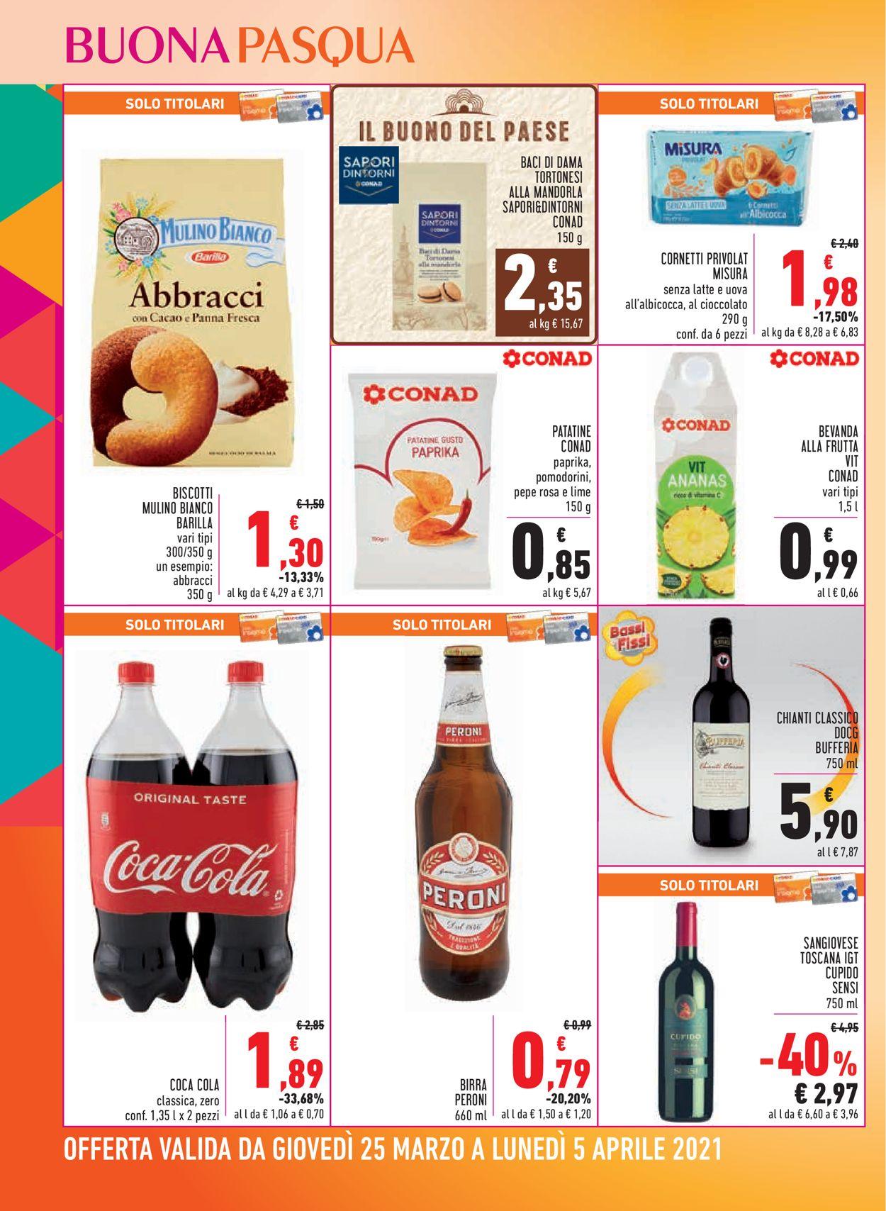 Volantino Conad - Pasqua 2021! - Offerte 25/03-05/04/2021 (Pagina 16)