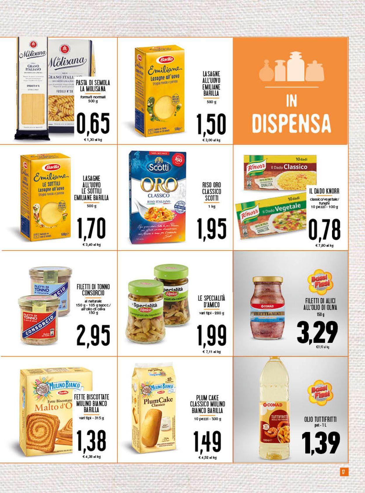 Volantino Conad - Pasqua 2021! - Offerte 24/03-03/04/2021 (Pagina 17)