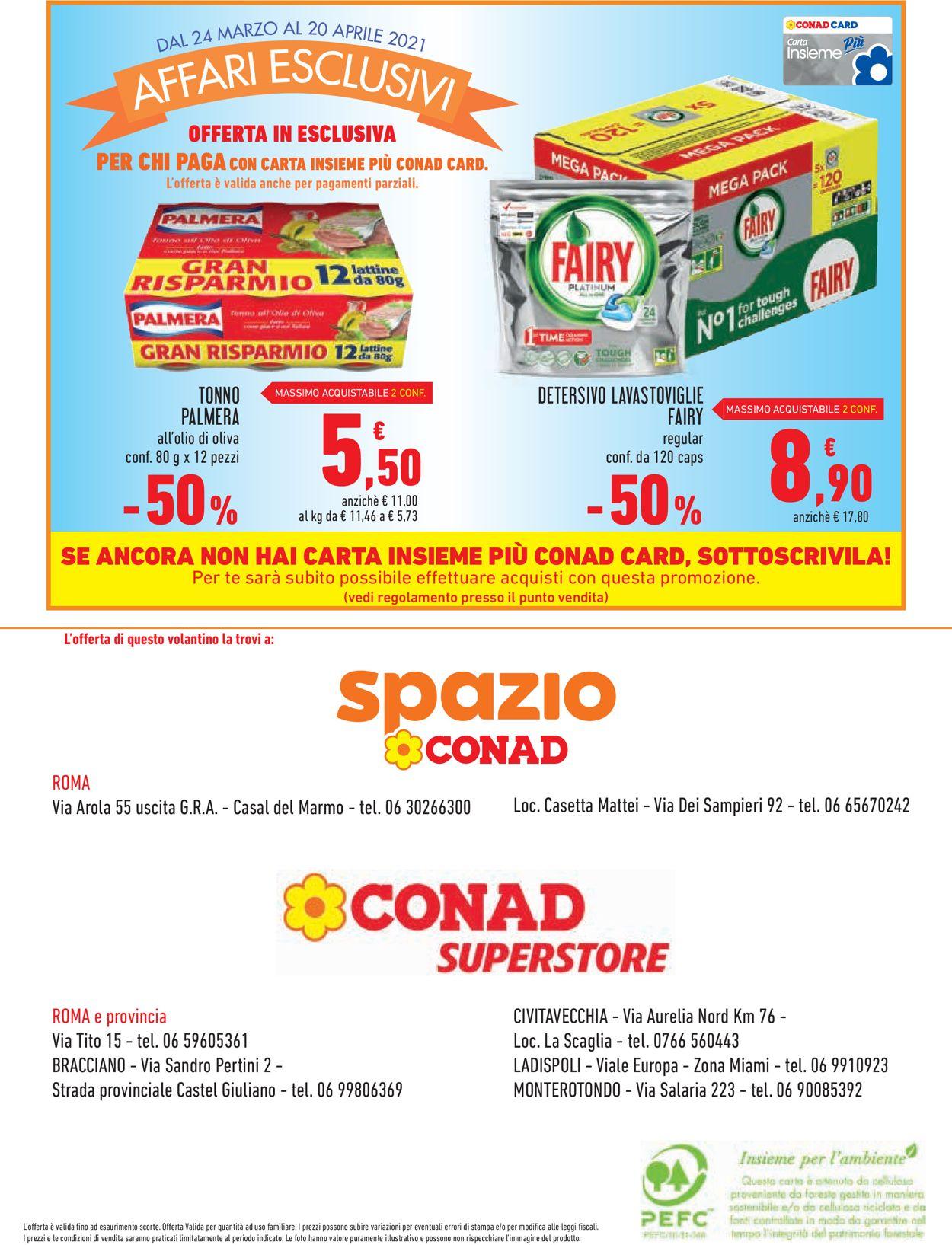 Volantino Conad - Offerte 24/03-20/04/2021 (Pagina 16)