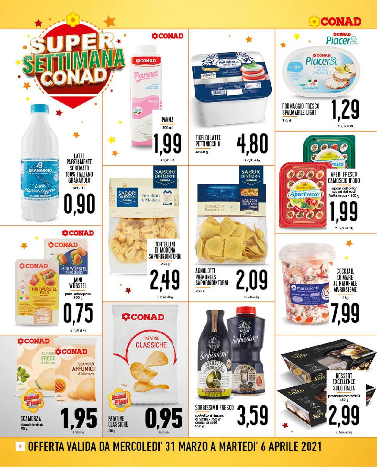 Volantino Conad - Pasqua 2021 - Offerte 31/03-06/04/2021 (Pagina 4)