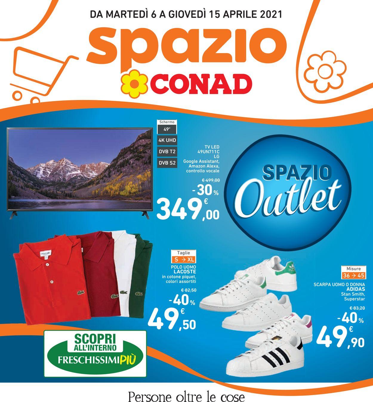 Volantino Conad - Offerte 06/04-15/04/2021