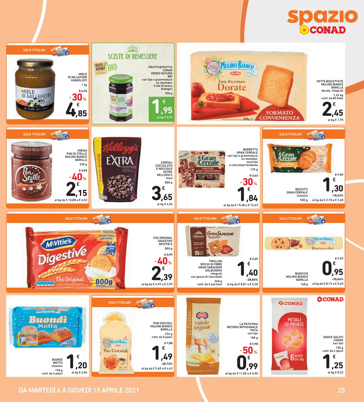 Volantino Conad - Offerte 06/04-15/04/2021 (Pagina 25)