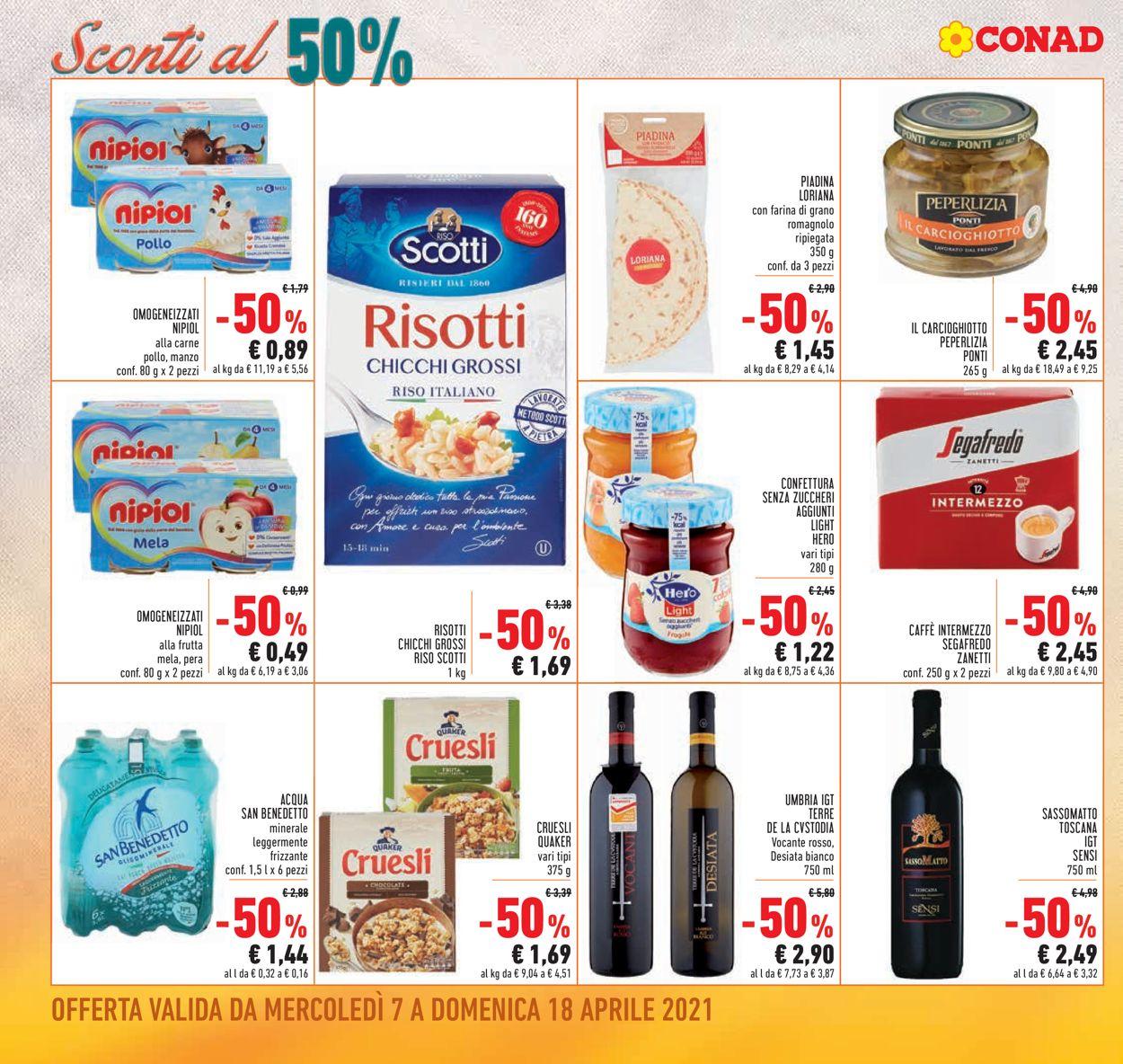 Volantino Conad - Offerte 07/04-18/04/2021 (Pagina 2)