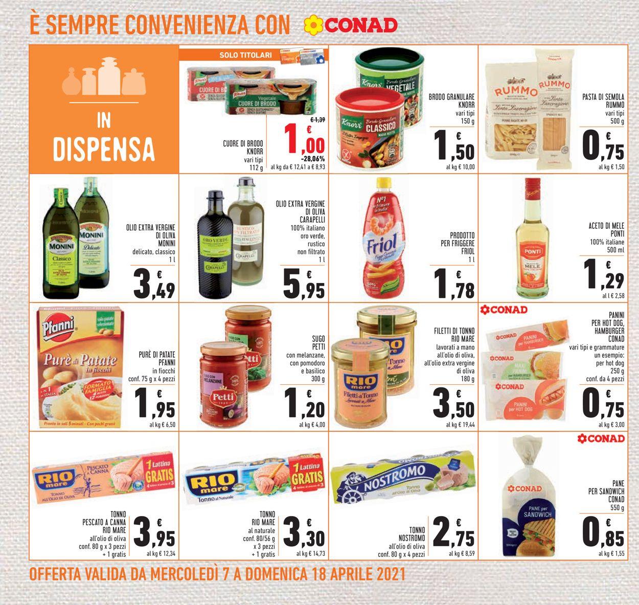 Volantino Conad - Offerte 07/04-18/04/2021 (Pagina 18)