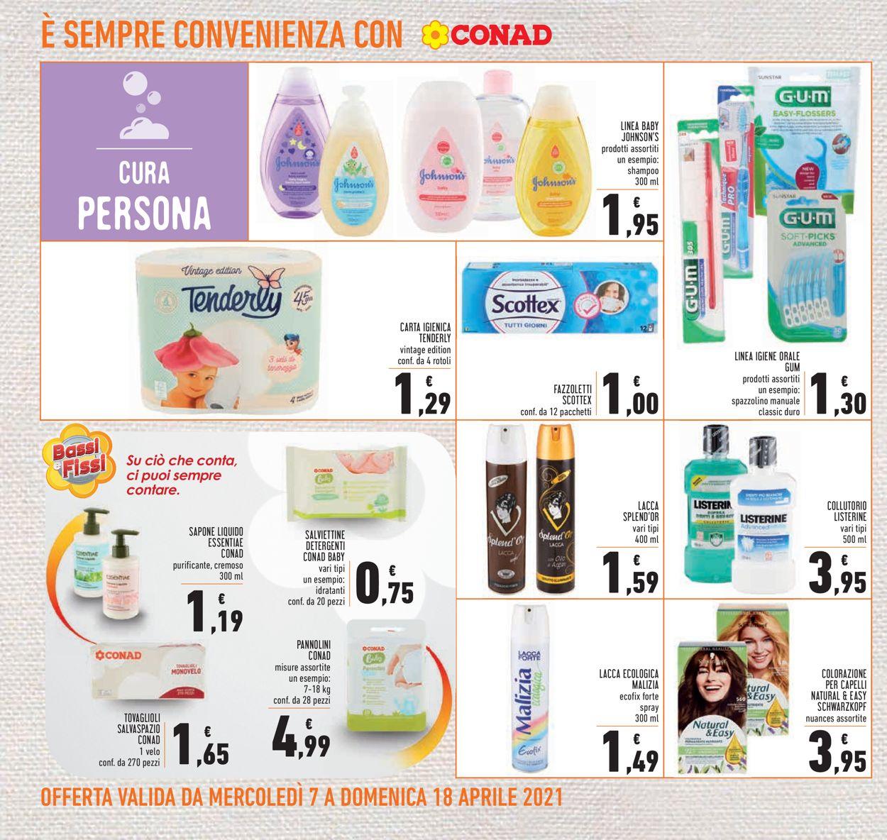 Volantino Conad - Offerte 07/04-18/04/2021 (Pagina 22)
