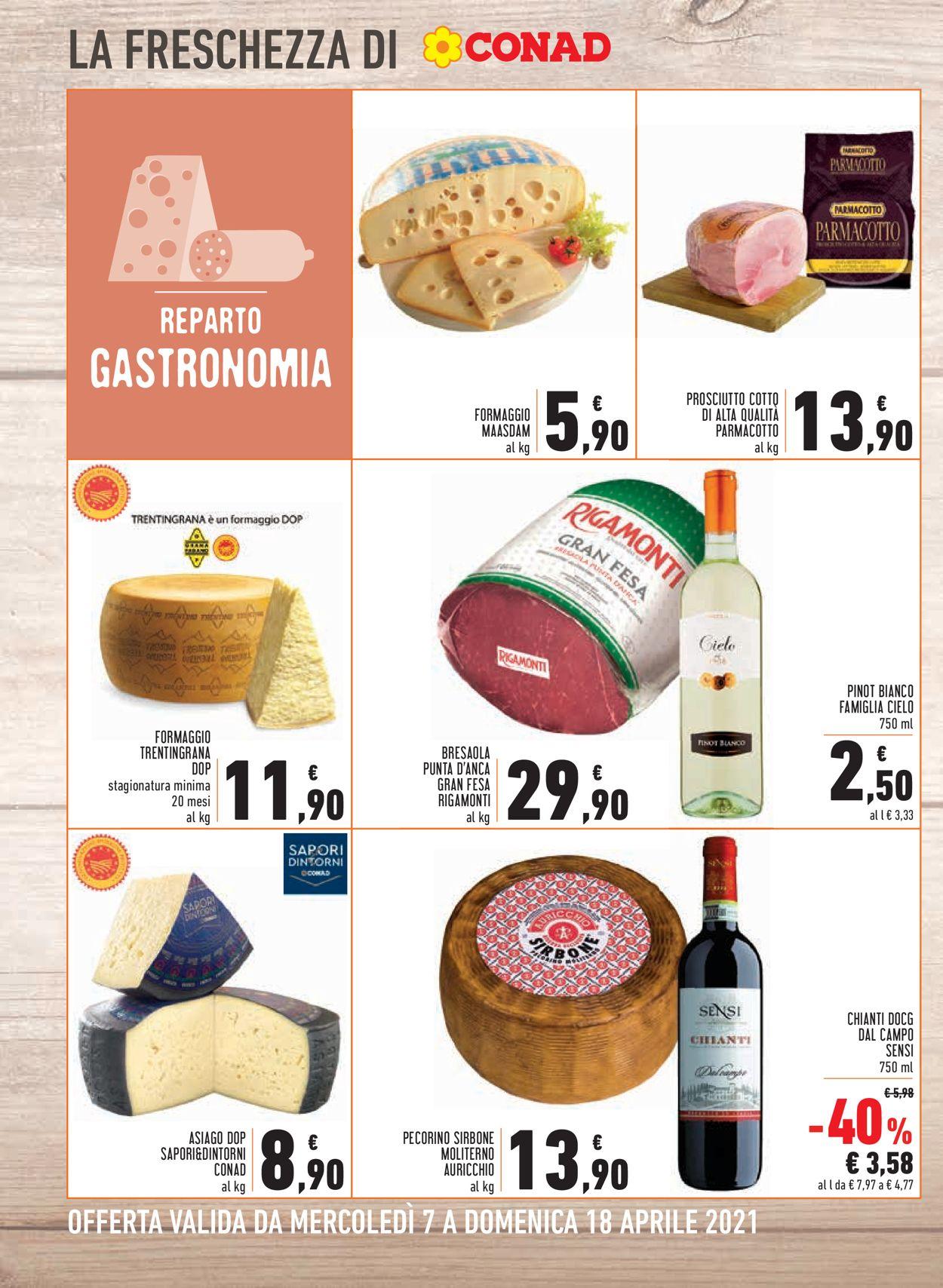 Volantino Conad - Offerte 07/04-18/04/2021 (Pagina 8)