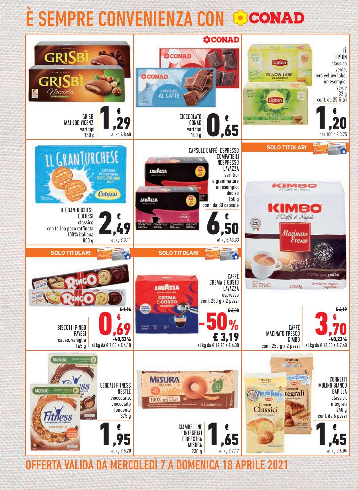 Volantino Conad - Offerte 07/04-18/04/2021 (Pagina 14)