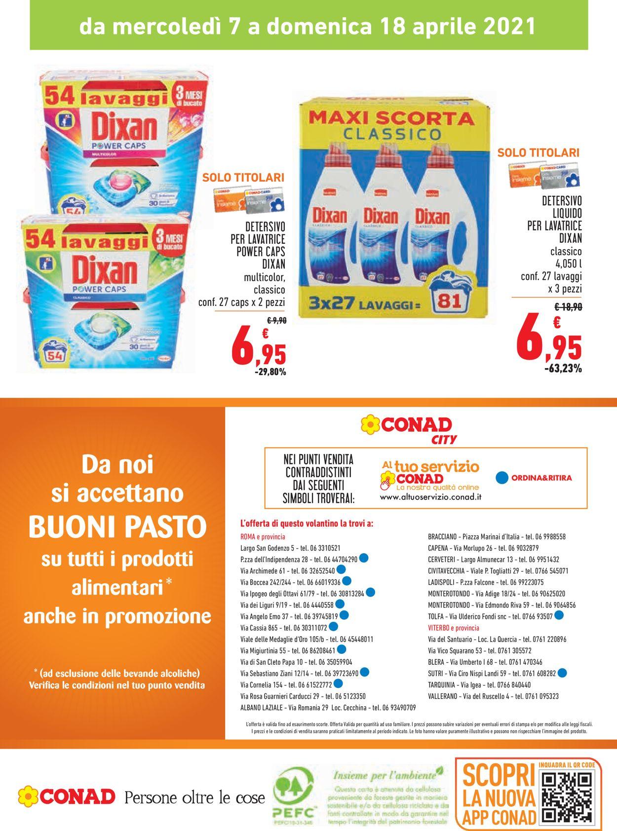 Volantino Conad - Offerte 07/04-18/04/2021 (Pagina 20)